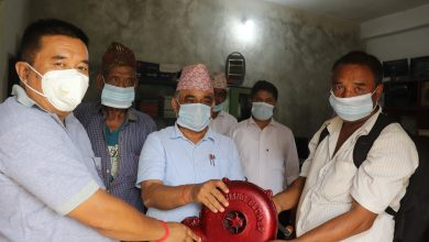 Photo of गल्याङका दलित समुदायलाई आरन व्यवस्थापनका लागि मेसिन हस्तान्तरण