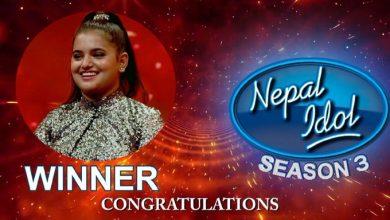Photo of 'नेपाल आइडल सिजन ३' विजेता बनिन् सज्जा चौलागाईं